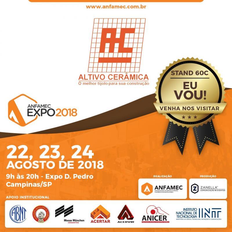 Altivo Cerâmica participou da ANFAMEC Expo 2018