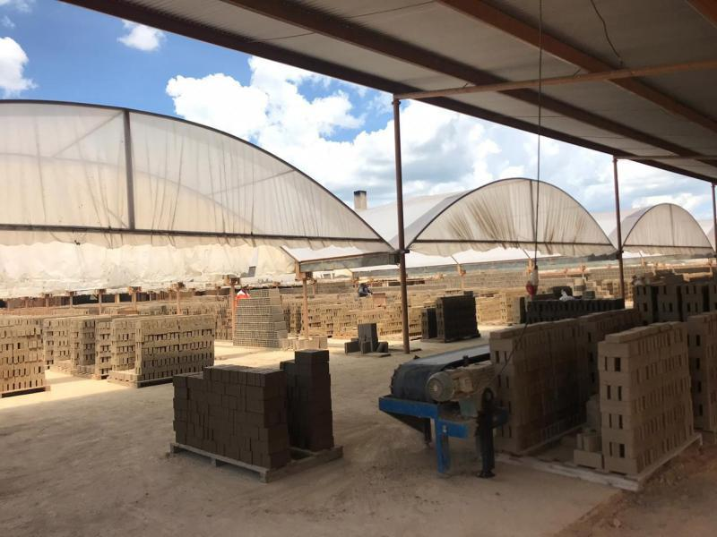 Fabrica de tijolos rústicos