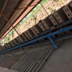 Fabrica de tijolo artesanal
