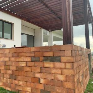 Fabrica de tijolo maciço